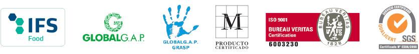 Logotipos certificados - Ibérica de Patatas