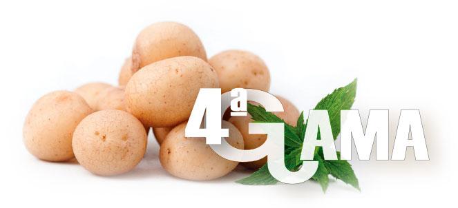 Productos: Cuarta Gama. Ibérica de patatas
