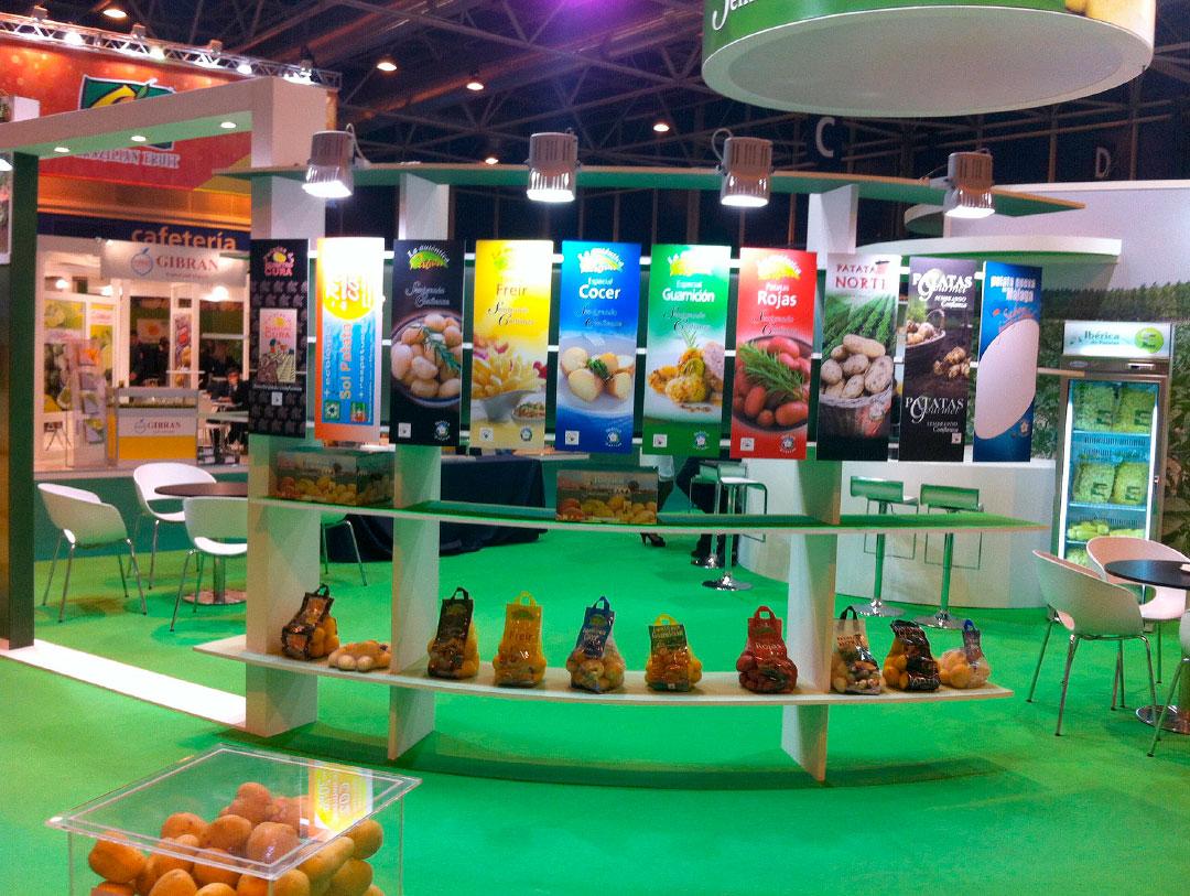 """Stand """"fruit attraction 2012"""" - Ibérica de patatas"""