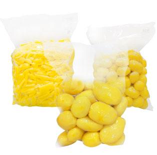 imagen de packaging - 4ª Gama: Patatas peladas y cortadas - Ibérica de patatas