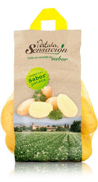 imagen de packaging - Patata Sensación - Ibérica de patatas