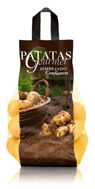 imagen de packaging - Patatas Gourmet - Ibérica de patatas
