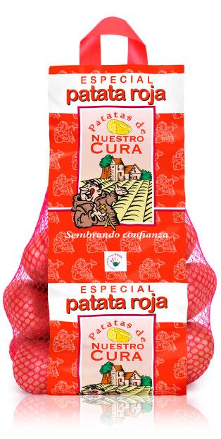 imagen de packaging - Patata Nuestro Cura Especial Patata Roja - Ibérica de patatas
