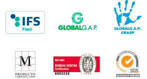 Logotipos cerificados - Ibérica de Patatas