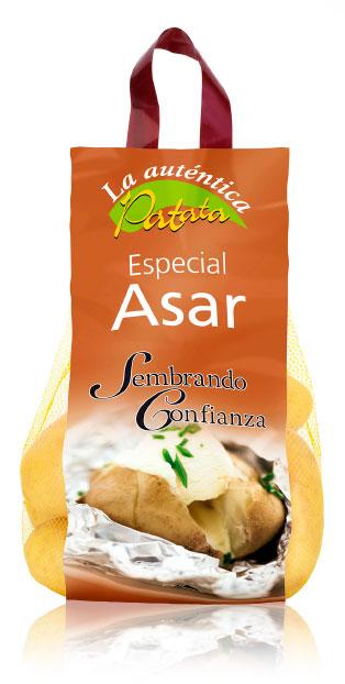 imagen de packaging - La auténtica Patata Especial Asar - Ibérica de patatas