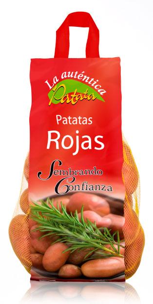 imagen de packaging - La auténtica Patata Especial Patatas Rojas - Ibérica de patatas