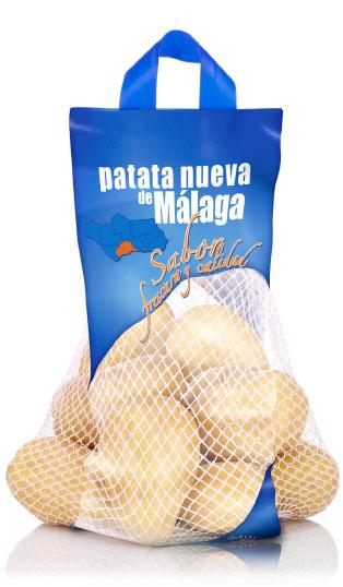 imagen de packaging - Patata  Nueva de Málaga - Ibérica de patatas