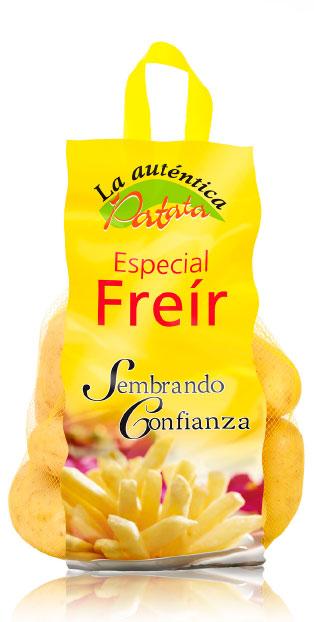 imagen de packaging - La auténtica Patata Especial Freír - Ibérica de patatas