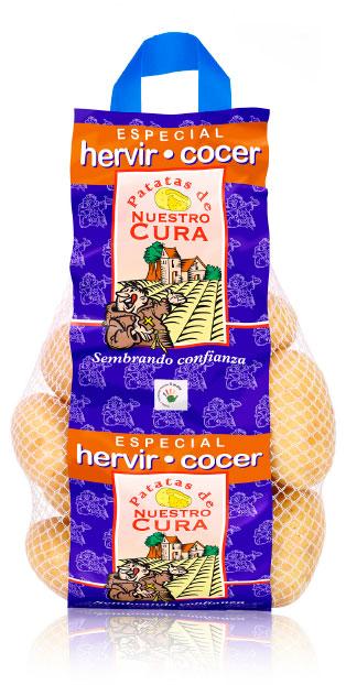imagen de packaging - Patata Nuestro Cura Especial Cocer - Ibérica de patatas