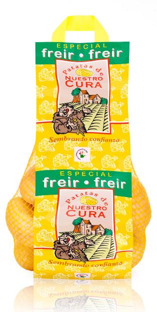 imagen de packaging - Patata Nuestro Cura Especial Freír - Ibérica de patatas