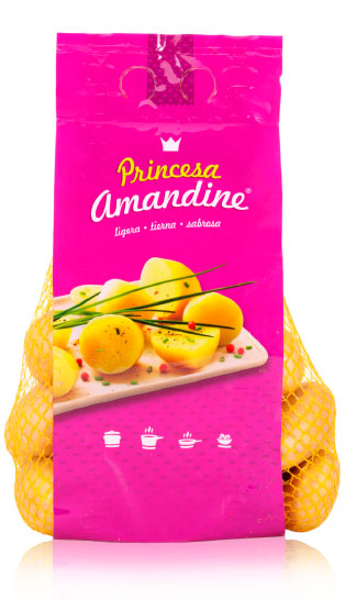 imagen de packaging - Patata Princesa Amandine - Ibérica de patatas