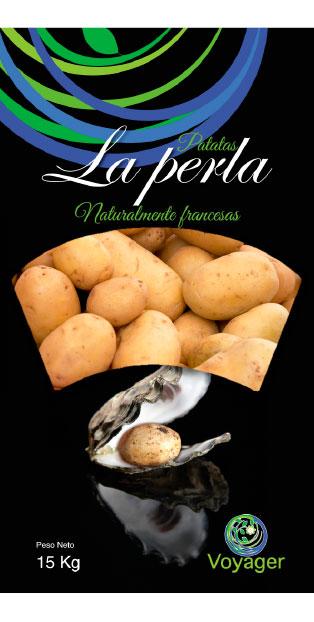 imagen de packaging - Patatas La Perla - Voyager - Ibérica de patatas
