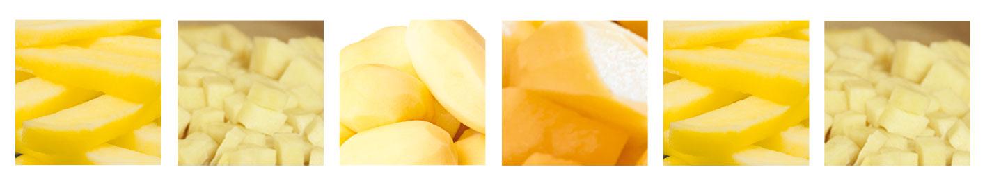 imagen de producto - 4ª Gama - Patatas Peladas / Cortadas - Ibérica de patatas